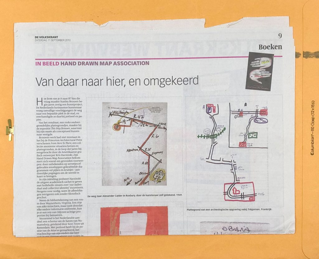 photograph of a de volkskrant article dated september 11 2010