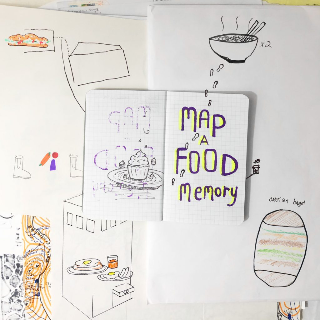 map a food memory