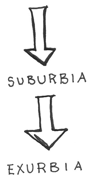 interstitial image suburbia exurbia